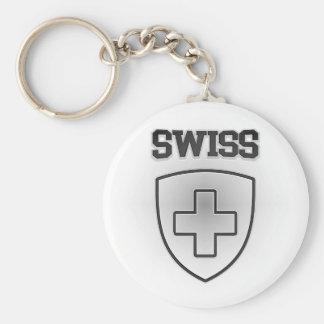 Swiss Emblem Keychain