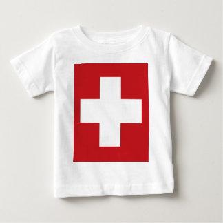 Swiss Flag Baby T-Shirt