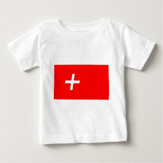 swiss-Flag Baby T-Shirt