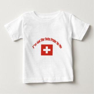 swiss flag designs baby T-Shirt