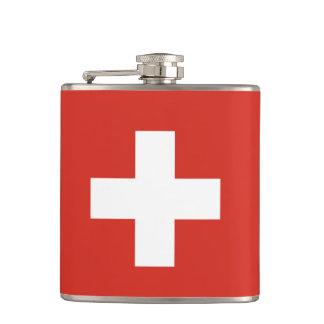 Swiss flag Flask