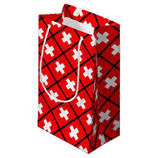 Swiss Flag Small Gift Bag
