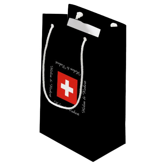 Swiss Flag Small Gift Bag