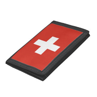 Swiss flag wallets and coin purses