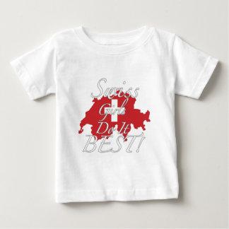 Swiss Girls Do It Best! Baby T-Shirt
