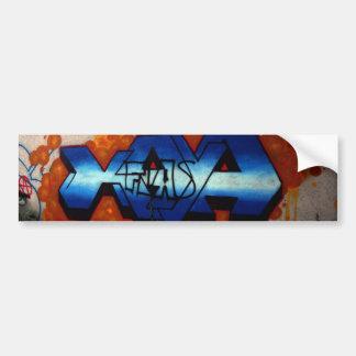 Swiss Graffiti Bumper Sticker