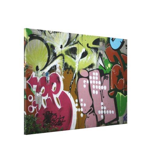 Swiss Graffiti Canvas Print