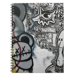 Swiss Graffiti Spiral Notebook