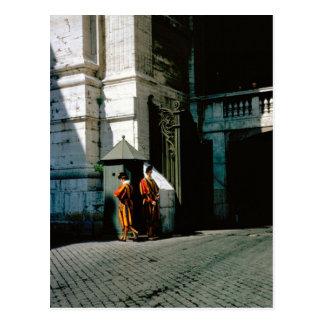 Swiss Guard at the Vatican Postcard