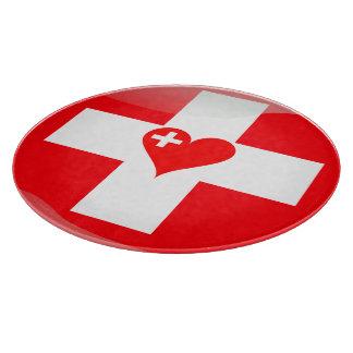 Swiss heart boards