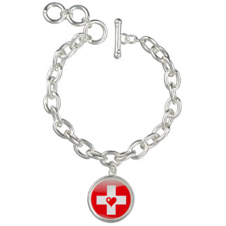 Swiss heart bracelets