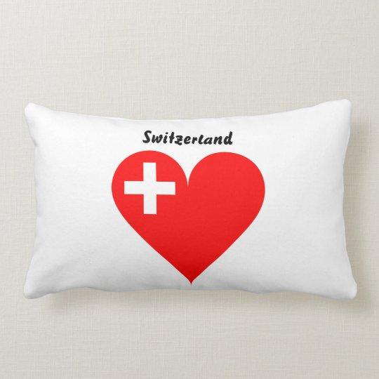 Swiss heart lumbar pillow