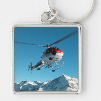 SWISS HELICOPTER KEYCHAIN