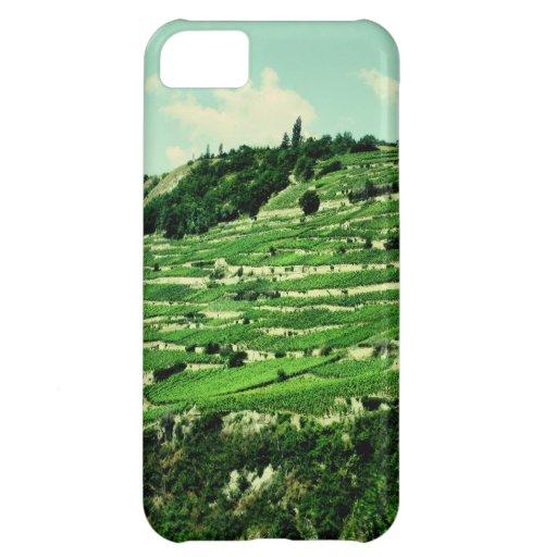 Swiss Hillsides iPhone 5C Cases
