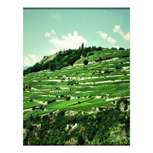 Swiss Hillsides Letterhead