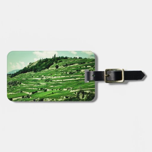 Swiss Hillsides Tag For Bags