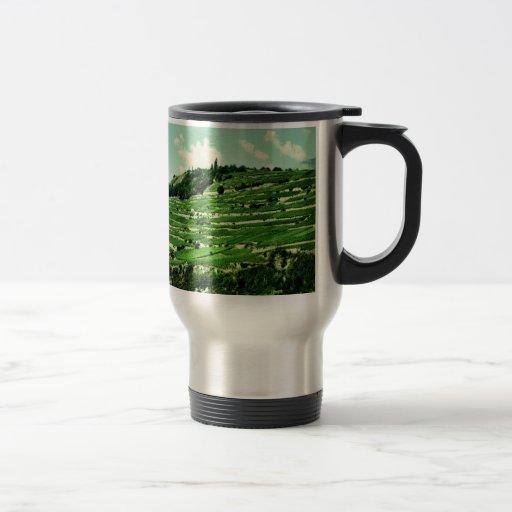 Swiss Hillsides Coffee Mugs