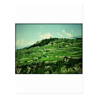 Swiss Hillsides Postcards