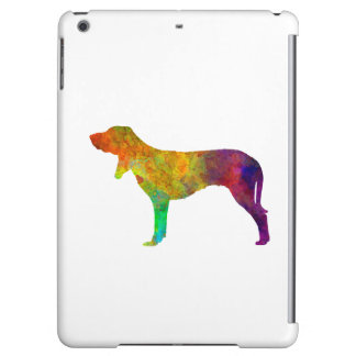 Swiss Hound in watercolor iPad Air Covers