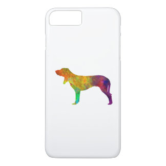 Swiss Hound in watercolor iPhone 8 Plus/7 Plus Case