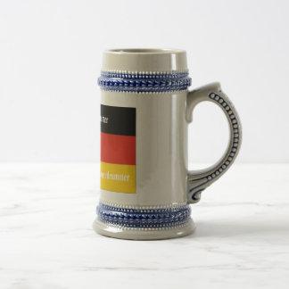 Swiss House Drummer Beer Stein
