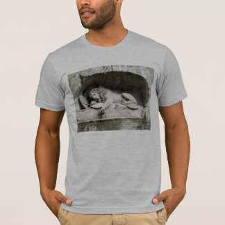 Swiss Images -The Lion monument, Luzern T-Shirt