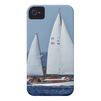 Swiss Ketch in Corsica. iPhone 4 Case-Mate Case