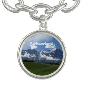 Swiss Landscape Charm Bracelets