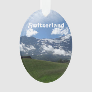 Swiss Landscape Ornament