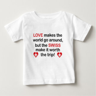 Swiss Love Baby T-Shirt