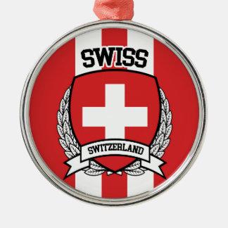 Swiss Metal Ornament