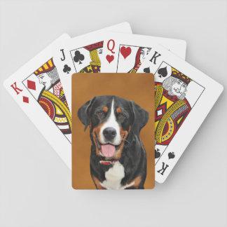 Swiss Mountain Dog Poker Deck