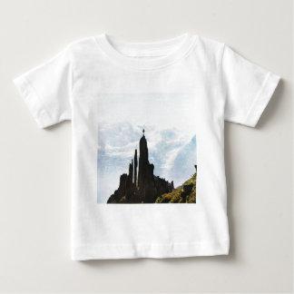 Swiss mountain scene baby T-Shirt