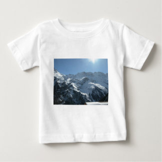 Swiss mountain village life baby T-Shirt