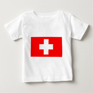 Swiss National Flag Baby T-Shirt