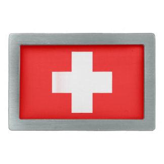 Swiss National Flag Belt Buckle