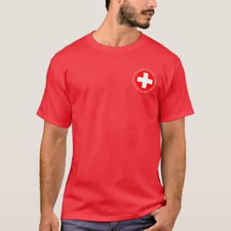 Swiss Pikemen Red & White Seal Shirt