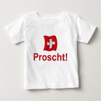 Swiss Proscht! Baby T-Shirt