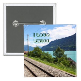 Swiss railway track buttons