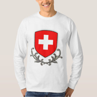 Swiss Scroll Lg Sleeve T-Shirt