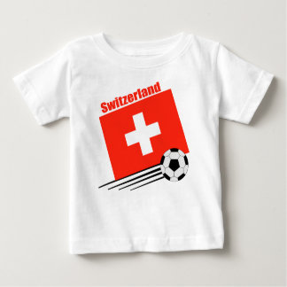 Swiss Soccer Team Baby T-Shirt