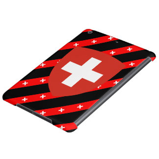 Swiss stripes flag cover for iPad air