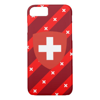 Swiss stripes flag iPhone 8/7 case
