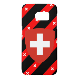 Swiss stripes flag samsung galaxy s7 case