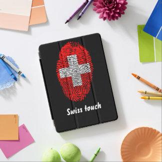 Swiss touch fingerprint flag iPad air cover
