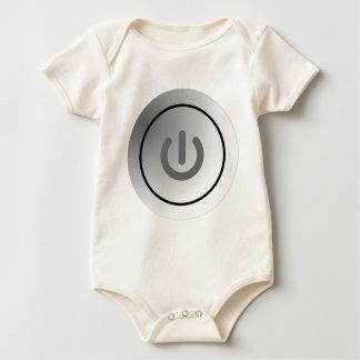 switch design circle design round mark baby bodysuit