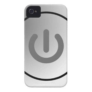 switch design circle design round mark iPhone 4 cover