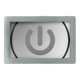 switch design circle design round mark rectangular belt buckles