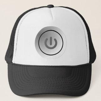 switch design circle design round mark trucker hat