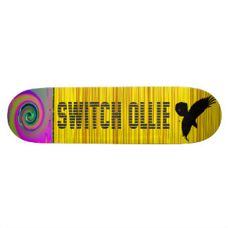 """SWITCH ollie!  Skateboard"